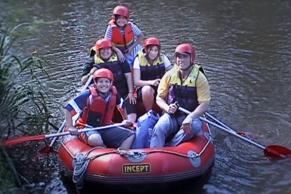 family-rafting